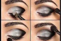 shimmer night make up