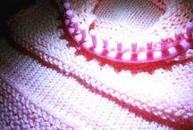 Mis creaciones en telar / My creations on loom
