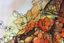 ART work Anna Lipowska / #annalipowska #linework #micronpen #doodle #abstract #interior #penart #decor #poster #daily_art #sketch #акварель #aquarelle #illustration #drawing #watercolor #painting #ink #art #artwork #ilustrator #artist #arte #modernart #zenart #colorful