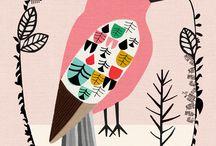ilustrações / by Fernanda Blandino