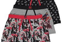DC Comics vaatteet