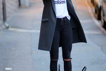 Monochrome Outfits / What's there not to love about a little black n white?