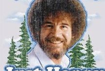 The Incomparable Bob Ross / We don't make mistakes, just happy little accidents.