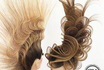 Art hairstyles
