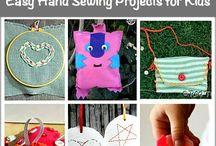 Needlework with Children
