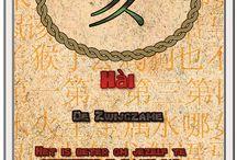 Chinese Horoscoop / Een set van 54 kaarten over de Chinese Horoscoop