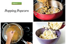 National Popcorn Poppin' Month! / Popcorn recipes and more