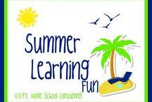 Homeschool Activities / by HOPE Home School Consulting