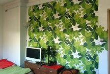 Pokój Zielony / Zdjęcia pokoju o kolorze zielonym