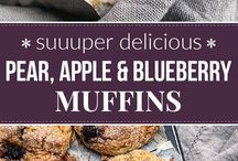 Muffin & Scone Recipes / Muffin recipes, muffins healthy, scone recipes, Fruit muffins, crumble muffins, sweet muffins, savory muffins, scones easy, scones recipes, scones recipe easy