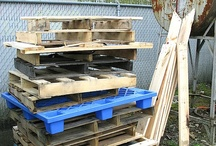 Pallet Project Ideas / Who knew you could do so many things with pallets!