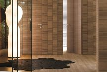 wooden wall door