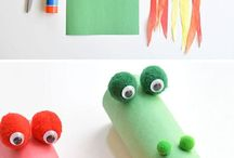Cardboard roll ideas
