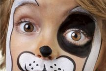 Kids face paint / by Miranda Lemmons