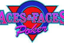 Aces & Faces Poker / Aces & Faces è forse il nome più conosciuto nel mondo del video poker online. La versione standard, che il casinò italiano Voglia di Vincere propone ai propri giocatori, presenta le regole più basilari del video poker: non vi sono carte jolly, e le mani pagate sono quelle tradizionali del poker.