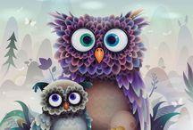 Owls / by Brandi Moore