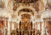 Baroque and rococo churches