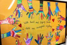 Classroom door poster ideas / School classroom door decor idea... Teacher appreciation week.