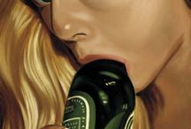 Richard Phillips / Richard Phillips - American artist fotorealist, lives and works in New York.