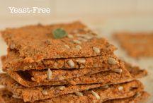 Breads & Crackers, Oil-Free & Vegan