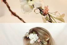 flower hairband