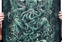 Lovecraftian and Necronomicon Stuff / Just a collection of Lovecraftian stuff that I find cool !