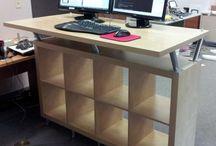 Studio standing desk