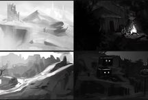 Animation Reference: Environment Design / by Stephanie Tse