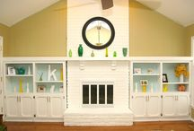Fireplace Makeovers / by Crafted Niche