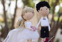 свадебные куклы.