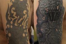 zakrywania starych tattoo