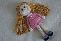 Amigurumi dolls free patterns