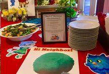 #BirthdayPartyThemes #DanielTigersNeighborhood