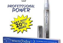 Tooth Whitening / Whiter, Brighter Teeth!