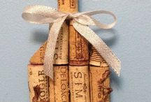 Recycle wine corks arts