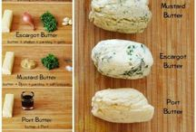 Recipes - flavoured butters & sauces