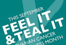 Ovarian cancer awareness / by Callie Haynes