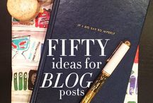 bloggity blog. / by Audrey Kennedy-Holcomb