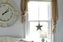 Window Decor In my style / Curtains, anything to dress up a window