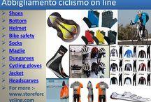 Abbigliamento ciclismo on line