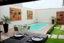 piscina - Área Gourmet