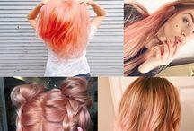 Rosey haircolor
