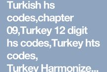 Turkey Hs Codes Search