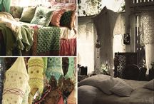 Bohemian, Gypsy and Indie / Fashion and roomspiration