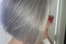 silver or greys