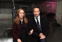 Gillian Anderson & David Duchovny