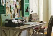Bekah's desk