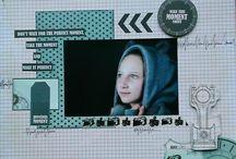 """Kit de scrap """"Time Machine"""" / kit de scrapbooking """"Time Machine"""" Collection de papiers KaiserCraft"""