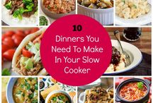 Slow Cooker Recipes / A collection of Slow Cooker recipes that are perfect for Winter #familyDinners #slowcooker #recipes #yummy #winter