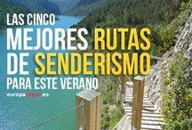 RUTAS TURISTICAS DE SENDERISMO